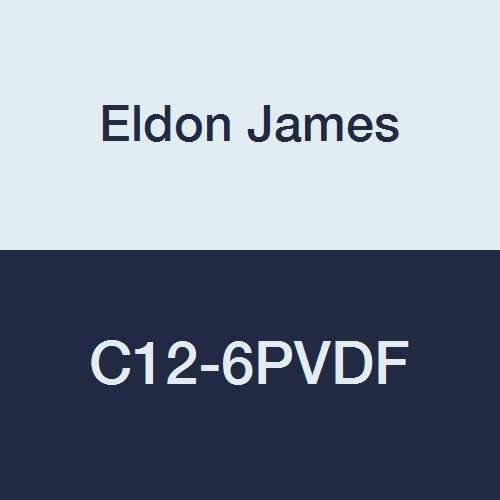 Eldon James C12-6PVDF trend rank Industrial unisex Gray Kynar Coupler Reduction 3