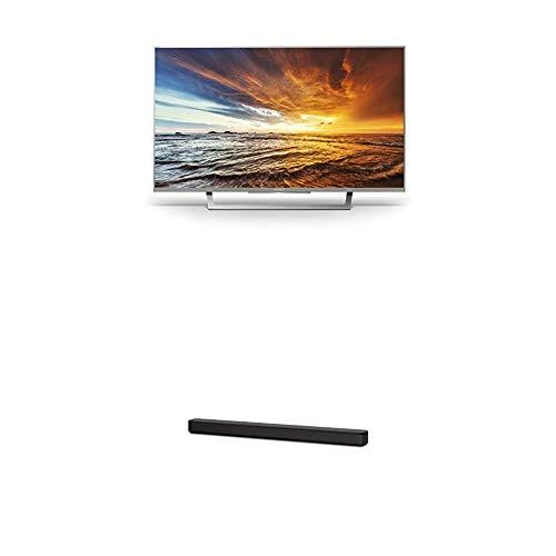 Sony KDL-32WD757 80cm (32 Zoll) Fernseher (Full HD, HD Triple Tuner, Smart-TV) plus HT-SF150 2-Kanal Soundbar (Verbindung über HDMI, Bluetooth und USB) silber