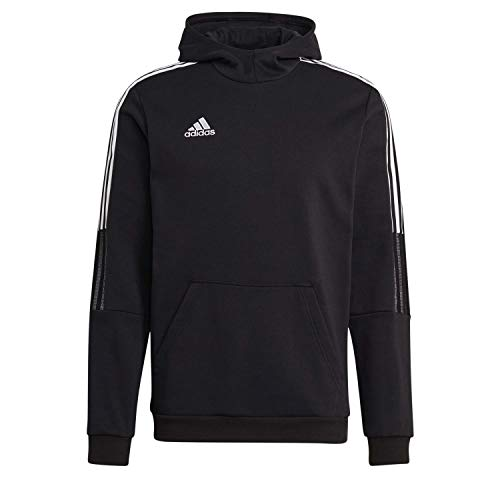 adidas GM7341 TIRO21 SW Hood Sweatshirt Mens Black M