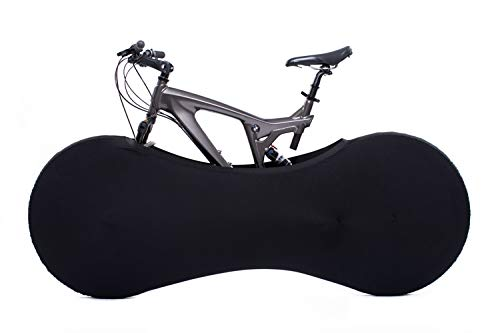 Velo Sock Black Bike Cover, Unisex-Adult, Sirve para EL 99%