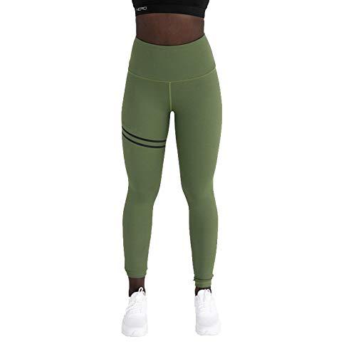 Otoño De Las Mujeres Europeas Y Americanas con Doble Anillo De Impresión Offset Plana Pantalones De Yoga De Cintura Alta Correr Fitness Leggings Deportivos para Mujeres Pantalones De Excursión