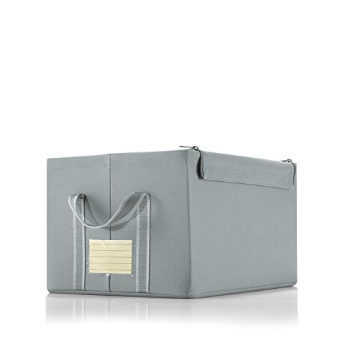 Reisenthel storagebox M grey Maße: 40 x 23 x 31 cm / Volumen: 30 l