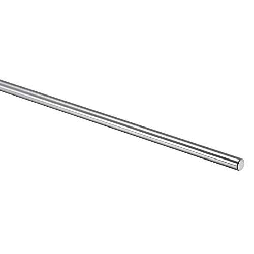 Sourcing Map 6 mm / 8 mm / 10 mm / 12 mm gehärtete Stange, verchromt, Linear Motion Shaft/Guide, 8mm x 380mm