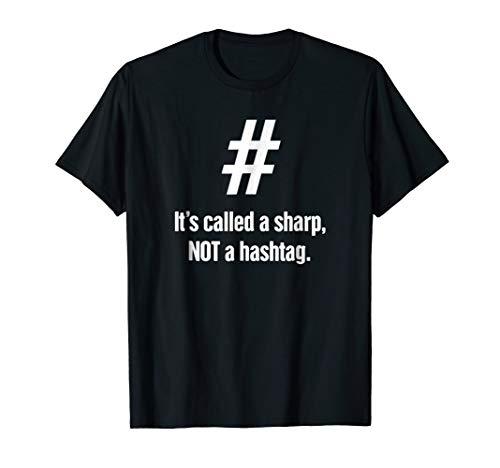 Hashtag - Funny Piano Player / Piano Teacher T-Shirt