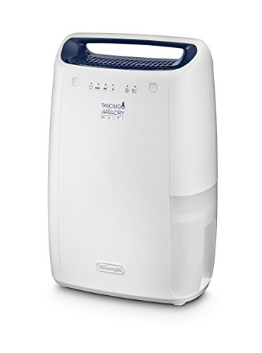 DeLonghi DEX 12 - Deshumidificador (210 W, 220-240 V, 50-60 Hz, 334 mm, 220 mm, 502 mm)