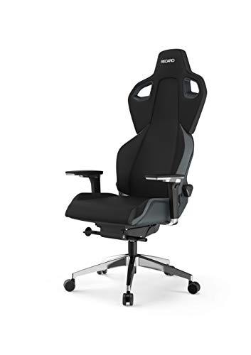 RECARO Exo FX Gaming Chair – Ergonomischer, höhenverstellbarer Stuhl für Gamer mit 5D-Armlehne – Iron Grey