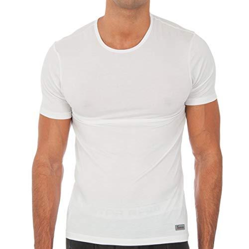 Abanderado Termal Termaltech Camiseta térmica, Blanco (Blanco 001), Medium (Tamaño del Fabricante:48) para Hombre