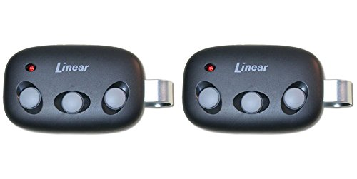 Linear Megacode MCT-3 3-Channel Visor Transmitter Lot of 2