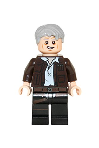 Lego Star Wars The Force Awakens 75105 - Figura de Han Solo del Halcón Milenario