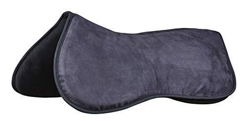 Weatherbeeta Memory Foam Comfort Half Pad Black Larg