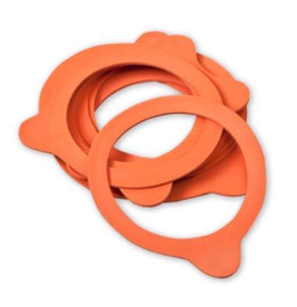 Weck Gummidichtung / Gummiringe, 60 mm, 10 Stück
