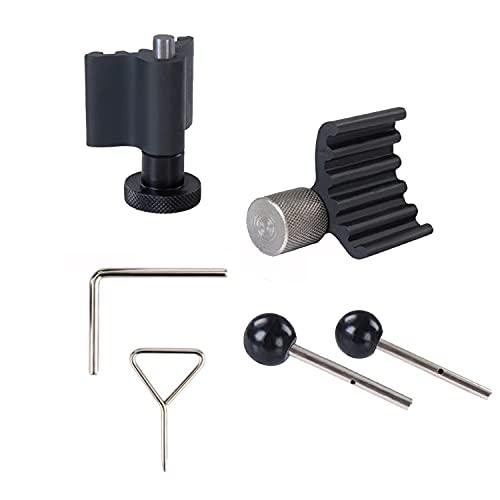 Hengda 6tlg Zahnriemen Wechsel Motor Werkzeug Set Einstellwerkzeug Nockenwellen Arretierwerkzeug Kurbelwelle 1.2, 1.4, 1.6, 1.9, 2.0 SDI TDI