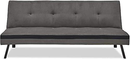 Wohnzimmer mit Schlafcouch faltbar Mietwohnungen Friseurladen ist einfach faul Siesta Schlafsofa,Grey-79x68x74cm