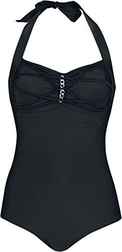 Black Premium by EMP Day at The Beach Frauen Badeanzug schwarz S