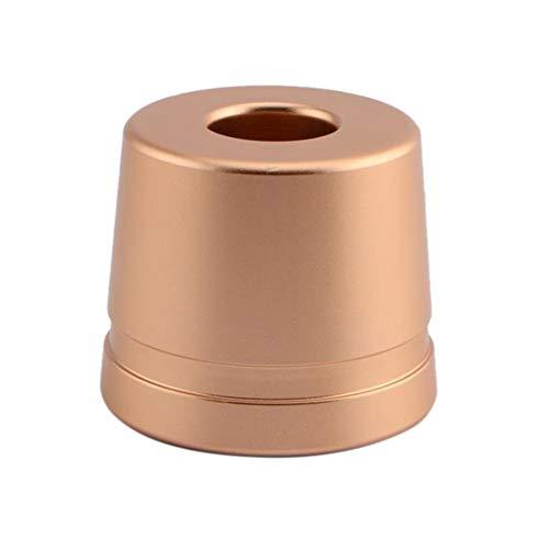Casinlog Soporte para maquinilla de afeitar SttNder/base de aleación de aluminio RegullRer (cuchilla de afeitar no incluida), color dorado