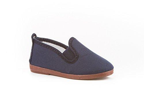 Zapatillas de Lona para Niños y Niñas, Angelitos mod.120, Calzado infantil Made in Spain, Garantia de Calidad.