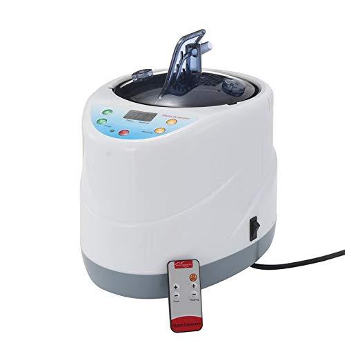 GFSD 2L Dampferzeuger Saunadampfer Home Sauna Spa Dampfgenerator Gewichtsverlust Detox Fernbedienungstemperatur (Color : 2L Universal)