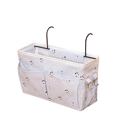 ZXDDD Multi-Layer Water-resistant Student Dormitory Bedside Storage Bag Hanging Bag Student Dormitory Hanging Basket,Style 7