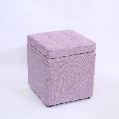 Lxrzls Ottoman Storage Chest Folding Max 67% OFF Versatile Box Space-Sav Trust Toy