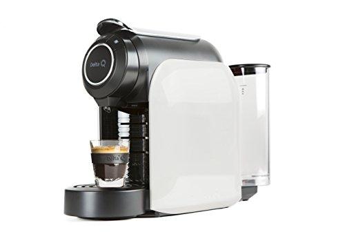 Delta F 012871Qool Evolution Kaffeeautomat Kapseln weiß 44x 19,3x 33cm