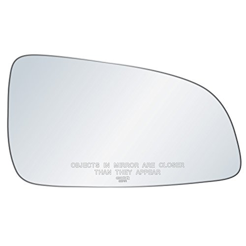 exactafit 8271R Passenger Side Mirror Glass Replacement Plus 3m Adhesives Compatible With 2008-2009 Saturn Astra Left Hand Door Wing RH