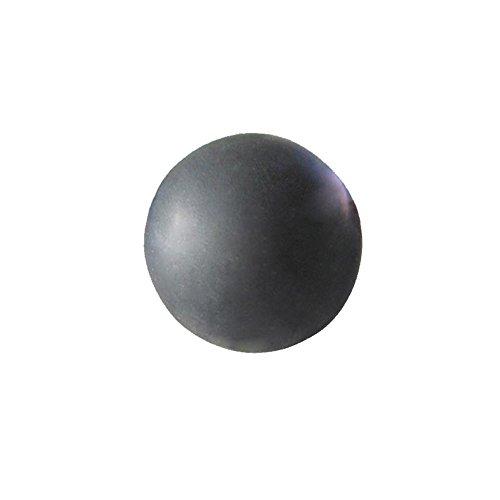 Westeng Pelota Bola Lacrosse Masaje Yoga Roller Ball Massage Punto Presión Pelota Masajear Terapias Rehabilitación Fisioterapia Negro,1Pcs
