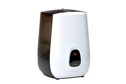 LANAFORM Notus Vapor 4.8L 80W Marrón, Color blanco, Madera - Humidificador (80 W, 220-240 V, 50 Hz, 284 mm, 284 mm, 382 mm)