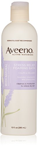 Aveeno Active Naturals Stress Relief Foaming Bath, 10 Ounce by Aveeno