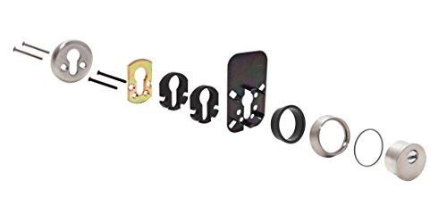Tesa Assa Abloy E80026AI Escudo de Alta Seguridad E800, Cromado