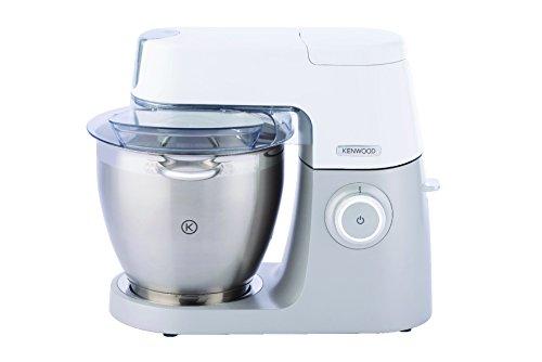 Kenwood Chef XL Sense KVL6010T Küchenmaschine | 1.200 Watt | 6,7 l Füllmenge | Inkl. 3-teiliges Patisserie-Set und 1,6 l ThermoResist Glas-Mixaufsatz