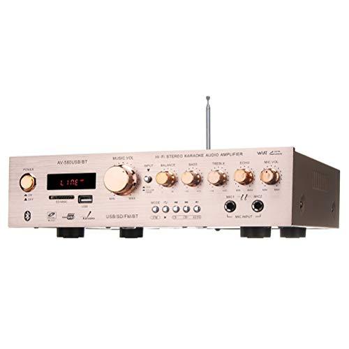 Release Liberación 920W 220V 5CH Bluetooth Amplificador De Alta Fidelidad Estéreo AV...