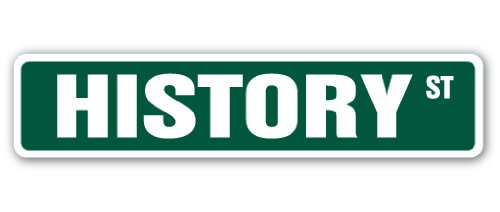 History Street Sign Teacher Professor College School high | Indoor/Outdoor |  36' Wide