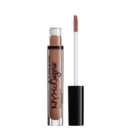 NYX Professional Makeup Lip Lingerie Liquid Lipstick, Cremig-mattes Finish, Langanhaltend, Vegane Formel, Farbton: Baby Doll