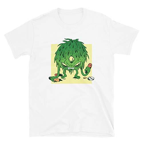 Generisch Corona Monster Short-Sleeve Unisex T-Shirt Coronavirus CoVid-19 SARS-CoV-2 Corona Virus