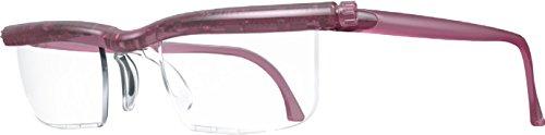 ドゥーアクティブ 老眼鏡 シニアグラス 度数調節(+0.5D〜+4.0D) 拡大機能 UVカット おしゃれ (バイオレット)