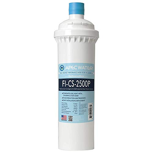 APEC FI-CS-2500P Replacement Filter for CS-2500P Water Filtration System