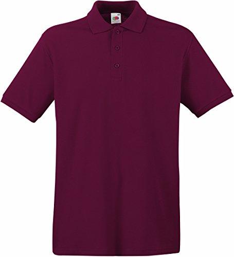 Premium Poloshirt, Größe:L;Farbe:Burgundy
