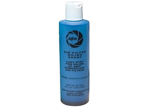 aFe Power MagnumFLOW 90-10021 Air Filter Oil (8 oz Squeeze, Blue)