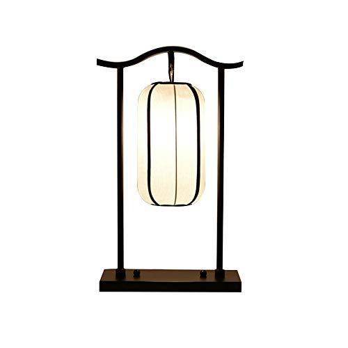 SPNEC Atenuador de Lectura de luz de Mesa Tela contemporánea Moderna para Sala de Estar Oficina Cama Decorativa Creativa Hotel