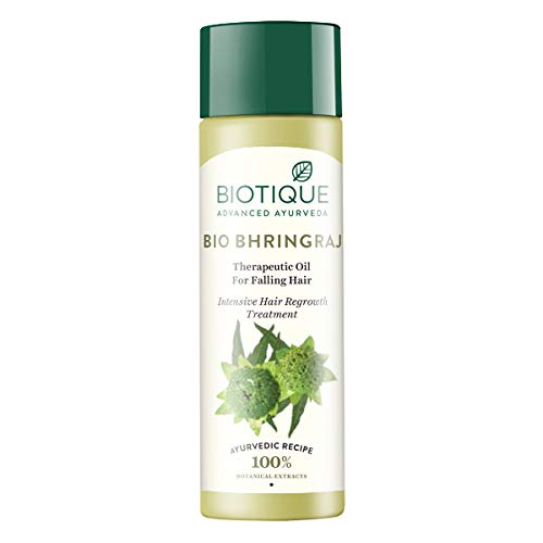 Biotique Intensive Hair Growth Treatment (120ml * 2 Stück, Bhringraj Haaröl)