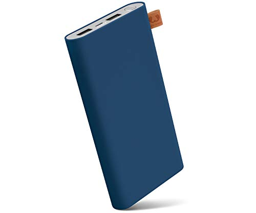 Fresh 'n Rebel Powerbank 3000 mAh, 12000 mAh, blauw