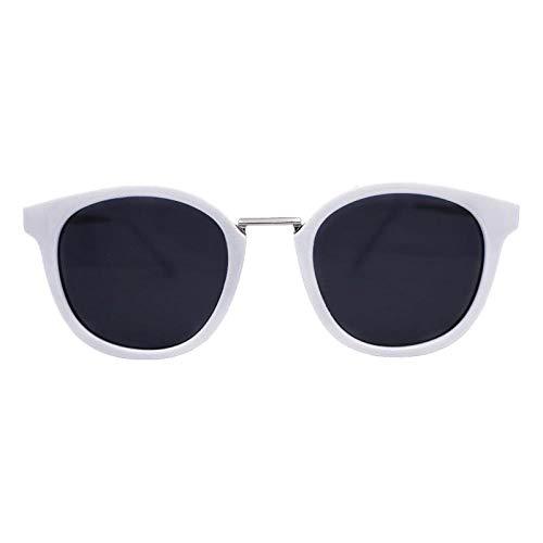 Gafas De Sol Gafas De Sol Cuadradas Blancas Gafas De Cara Redonda Personalizadas