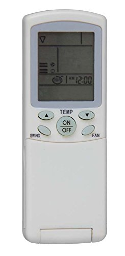 Mando a distancia para aires acondicionados, climatizadores, bombas de calor, inverter de marca Haier, modelo YR-H03, compatible con marca Mariani Clima