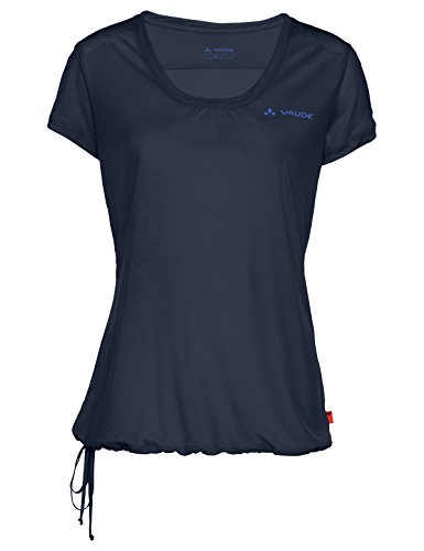 VAUDE Damen T-shirt Vallanta Shirt II, eclipse, 38, 410047500380