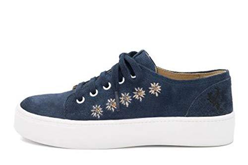 Spieth & Wensky Sneaker Ludmilla blau Gr.39