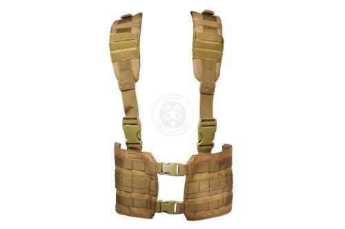 Condor Mcr7 Molle Tactical Ronin Chest Rig Split Vest Tan Mcr7 003 Buy Online In Japan At Desertcart Jp Productid 2268076