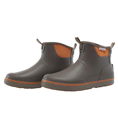 Grundens Men's DECK-BOSS Ankle Boot   Durable, Waterproof, Brindle, M 11