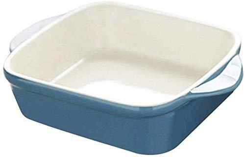 WOHAO Fête des Enfants de la Vaisselle Bol en céramique, Vaisselle Risotto, Plateau de Cuisson en céramique, Vaisselle Pratique ménage, (Couleur: B) (Color : B)