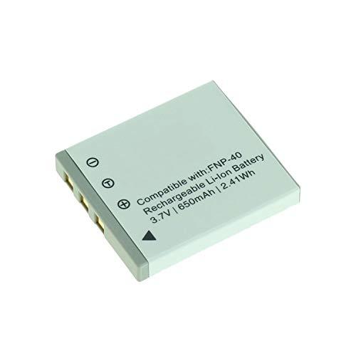 MobiloTec Akku kompatibel mit Jay-Tech WGL-0101, Camcorder/Digitalkamera Li-Ion Batterie