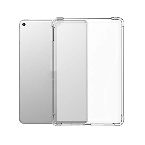 Lobwerk Beschermhoes voor Apple iPad Mini 4 en Mini 5 7.9 inch Silicone Hoes Slim Case Ultra Thin Zwart mat
